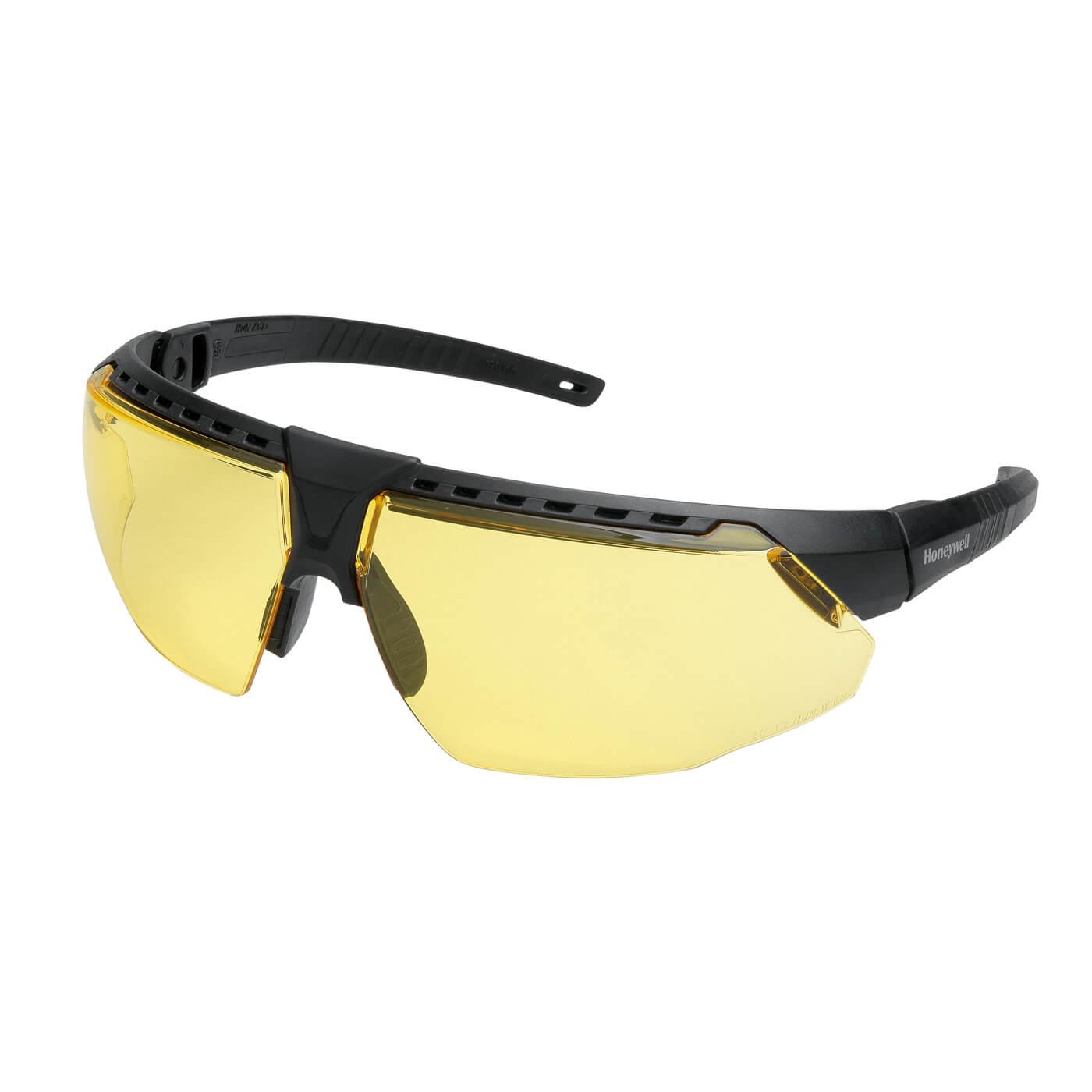 Okulary ochronne Avatar 1034833 Honeywell żółta soczewka