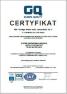 Certyfiakt ISO