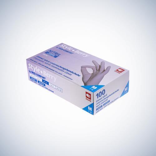 Rękawice jednorazowe Ampri 01184 Med-Comfort Berry Care