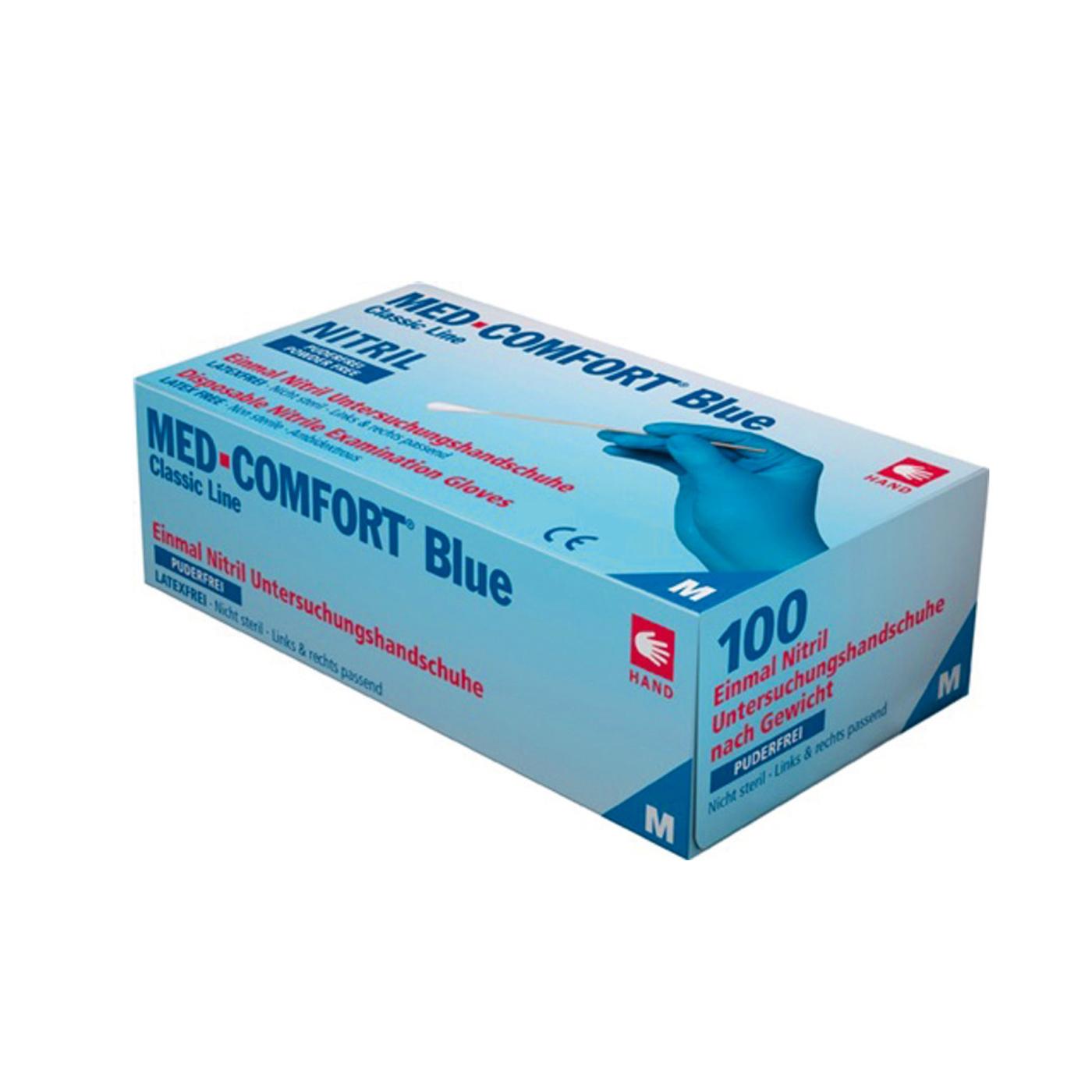 Rękawice jednorazowe Ampri 01192 Med-Comfort Blue