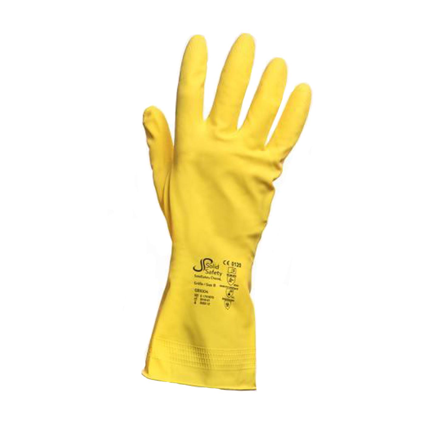 Rękawice lateksowe Ampri 081004 SolidSafety ChemL