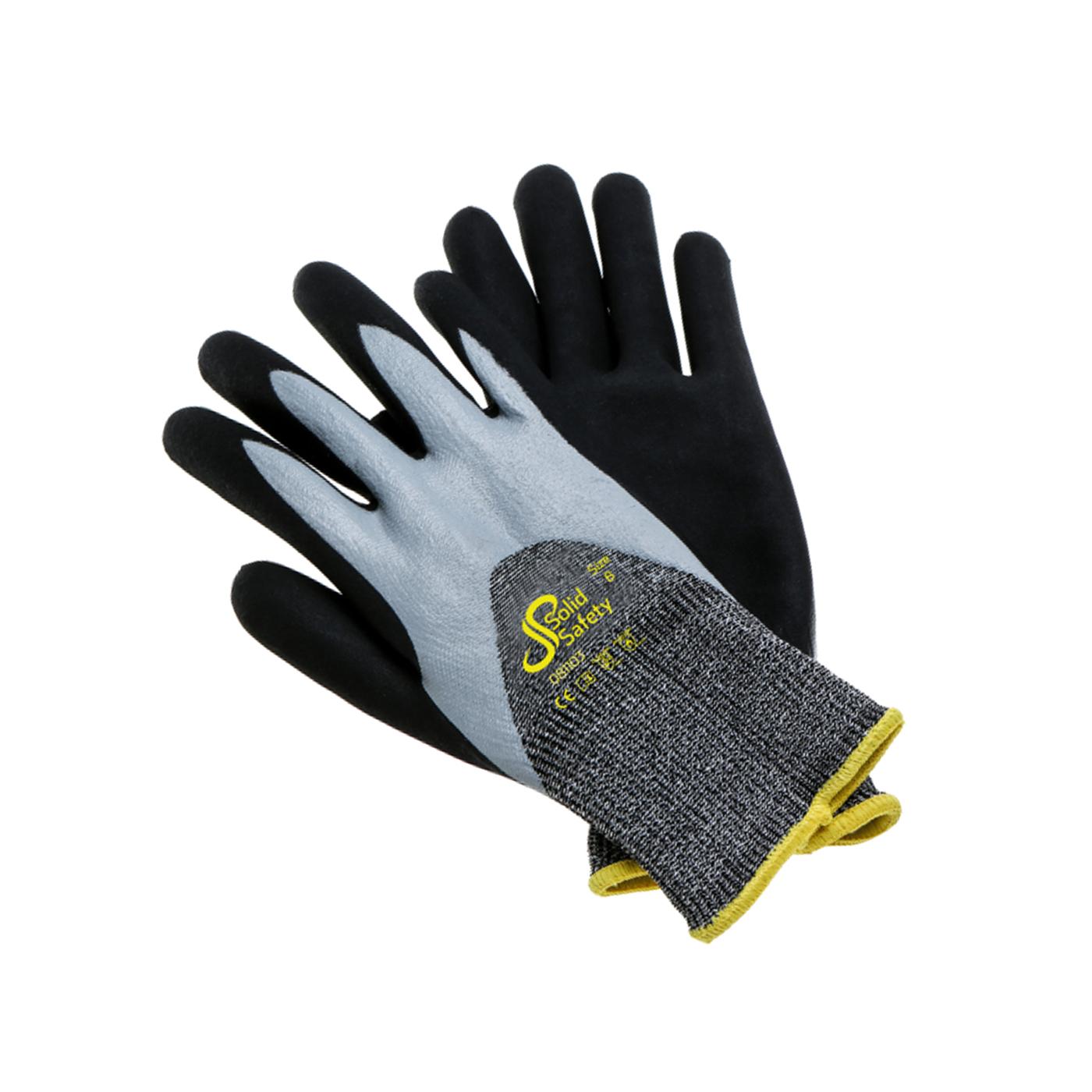 Rękawice mechaniczne Ampri 081103 Solid Safety Special Cut 5