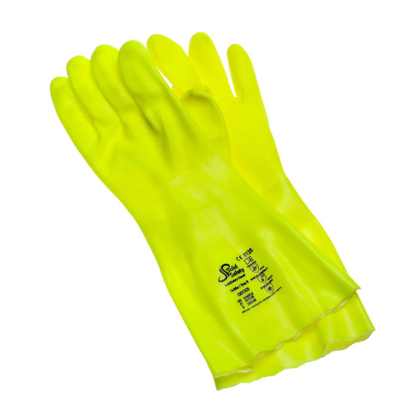Rękawice chemiczne Ampri 081301 SolidSafety ChemP