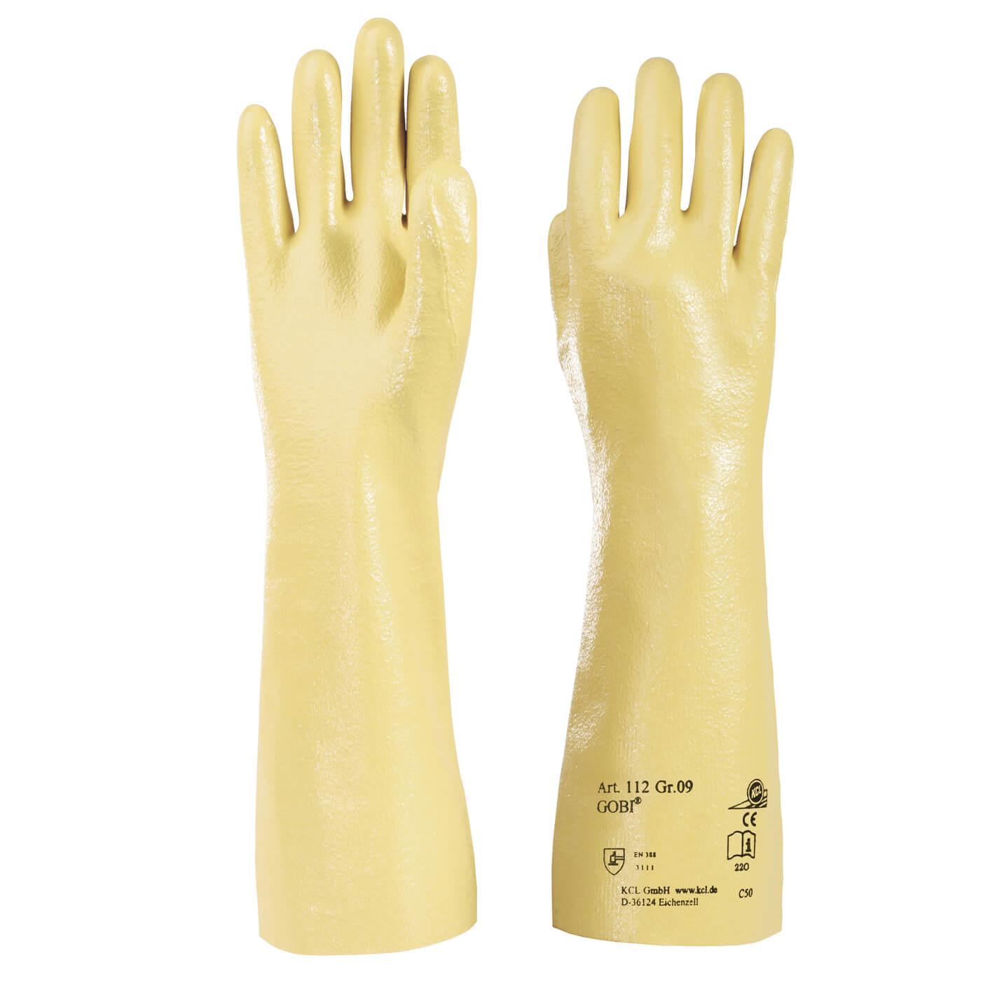 Rękawice mechaniczne KCL 112 GOBI