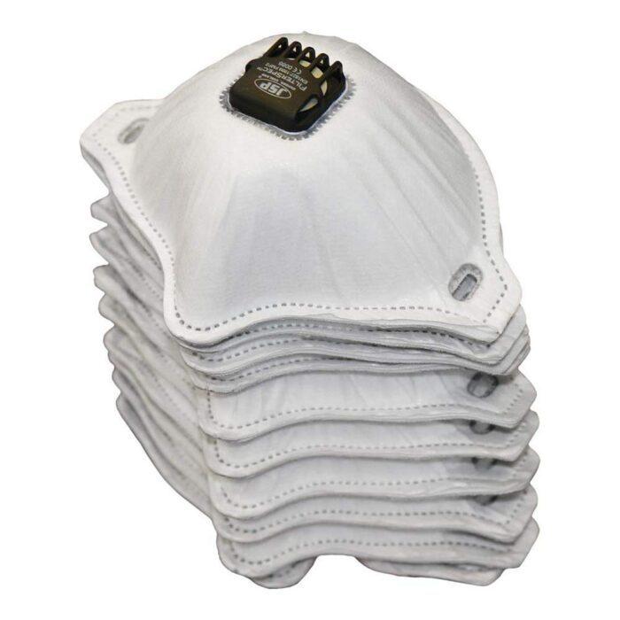 Jednorazowe filtry wymienne JSP FFP2 z zaworem do gogli FilterSpec ASG02B-101-100