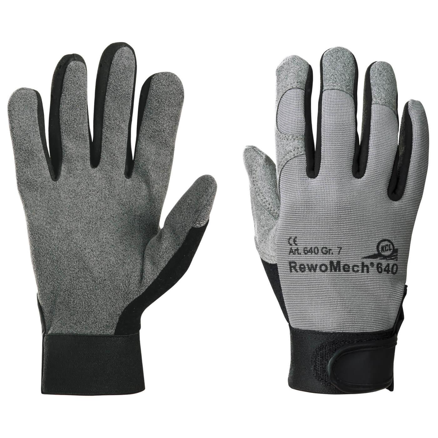 Rękawice mechaniczne KCL 640 REWOMECH
