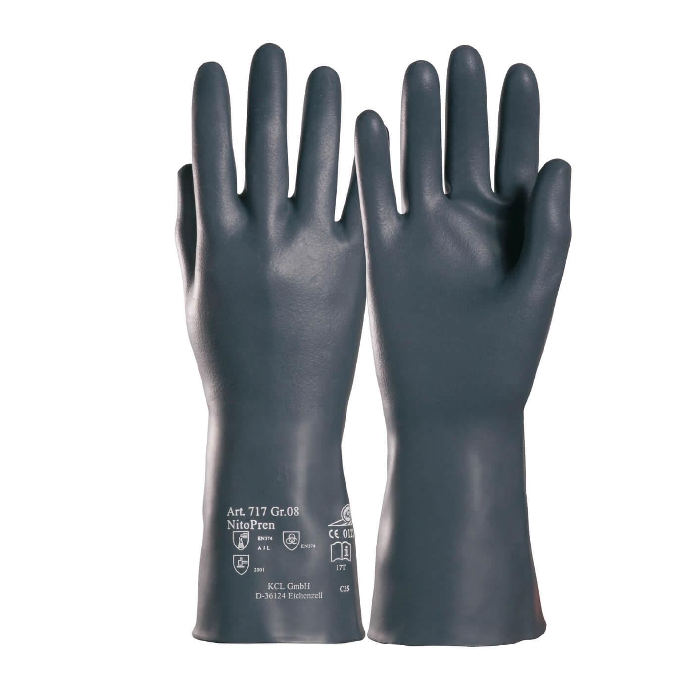 Rękawice chemiczne KCL 717 NITOPREN