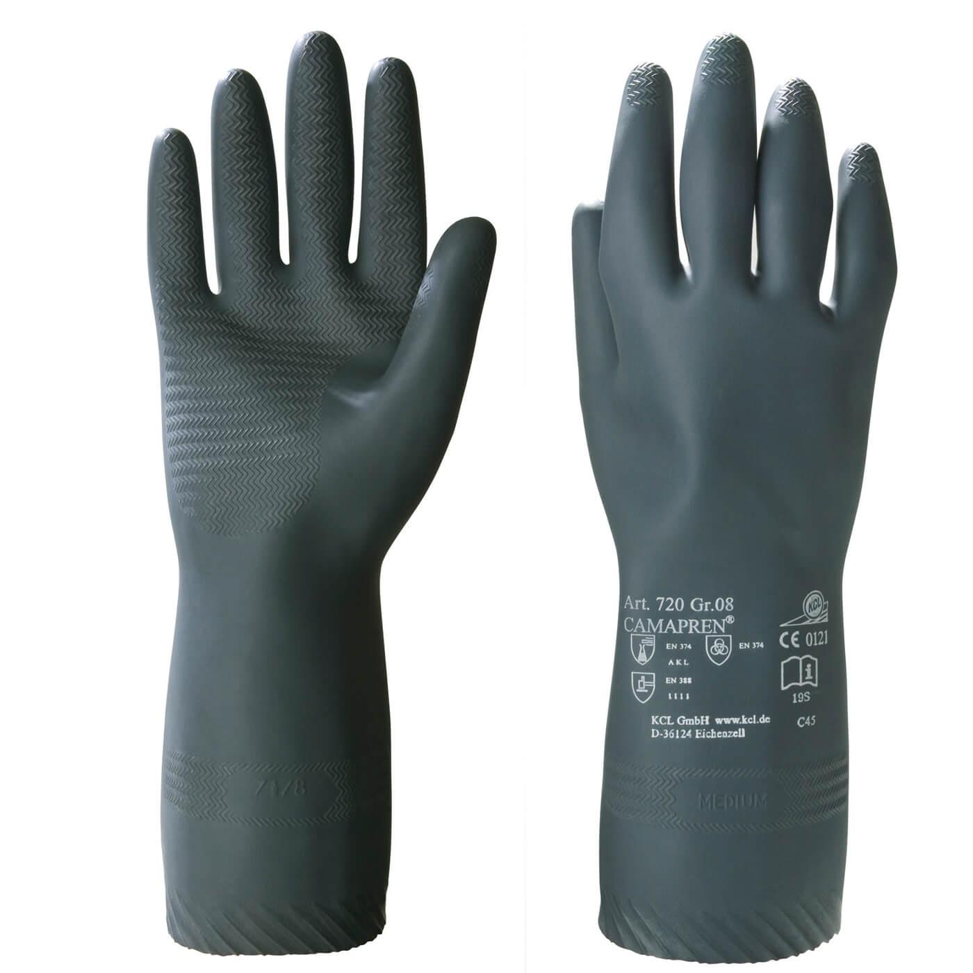 Rękawice chemiczne KCL 720 CAMAPREN