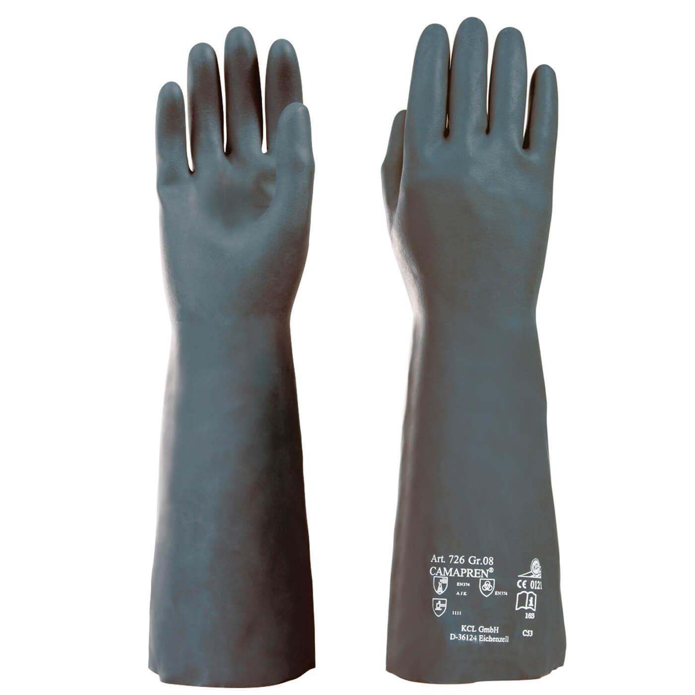 Rękawice chemiczne KCL 726 CAMAPREN