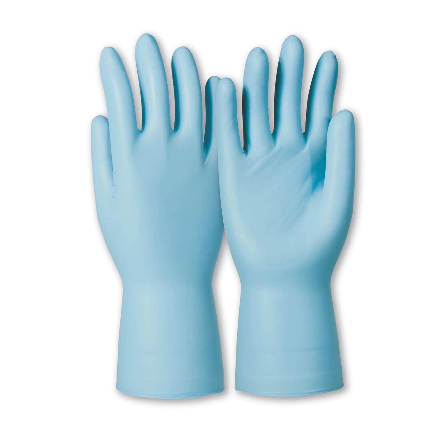 Rękawice nitrylowe KCL Dermatril P 743