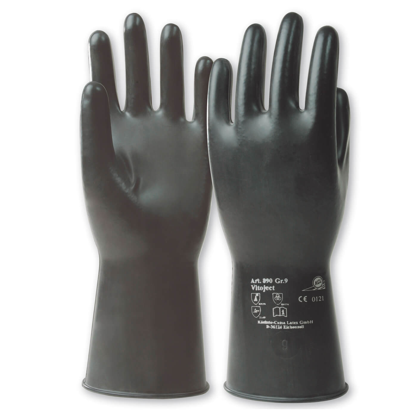 Rękawice chemiczne KCL 890 VITOJECT