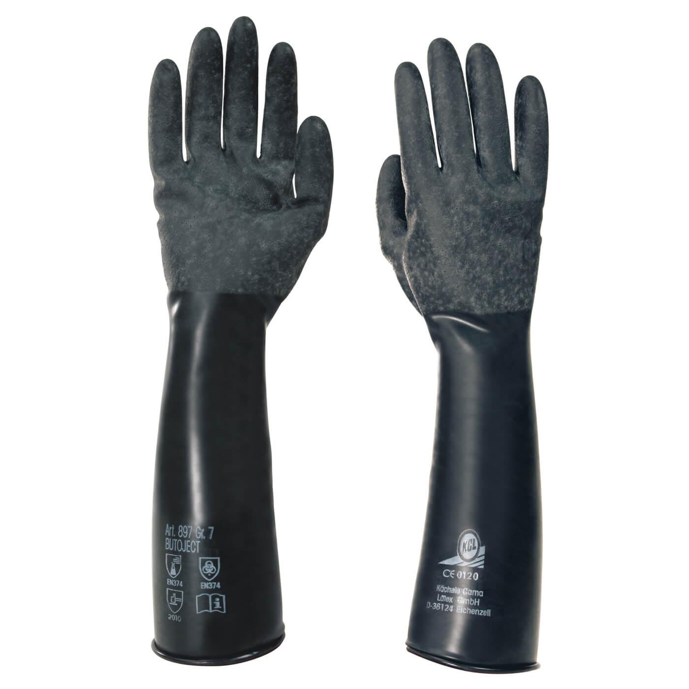 Rękawice chemiczne KCL 897 BUTOJECT