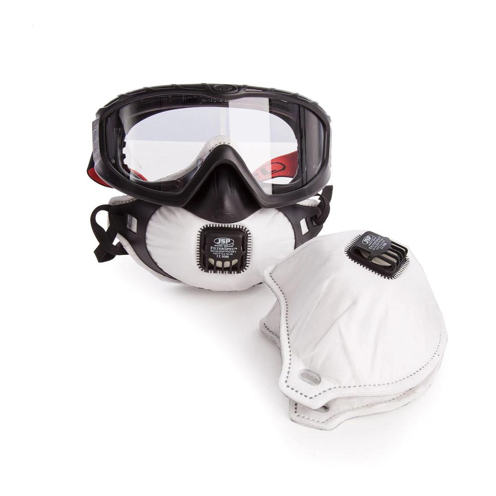 Osłona twarzy FilterSpec Pro z filtrem FFP2 z zaworem AGE120-201-100