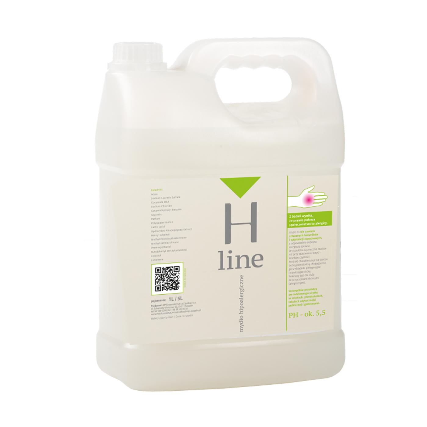 Mydło  w płynie H-Line hipoalergiczne MPS