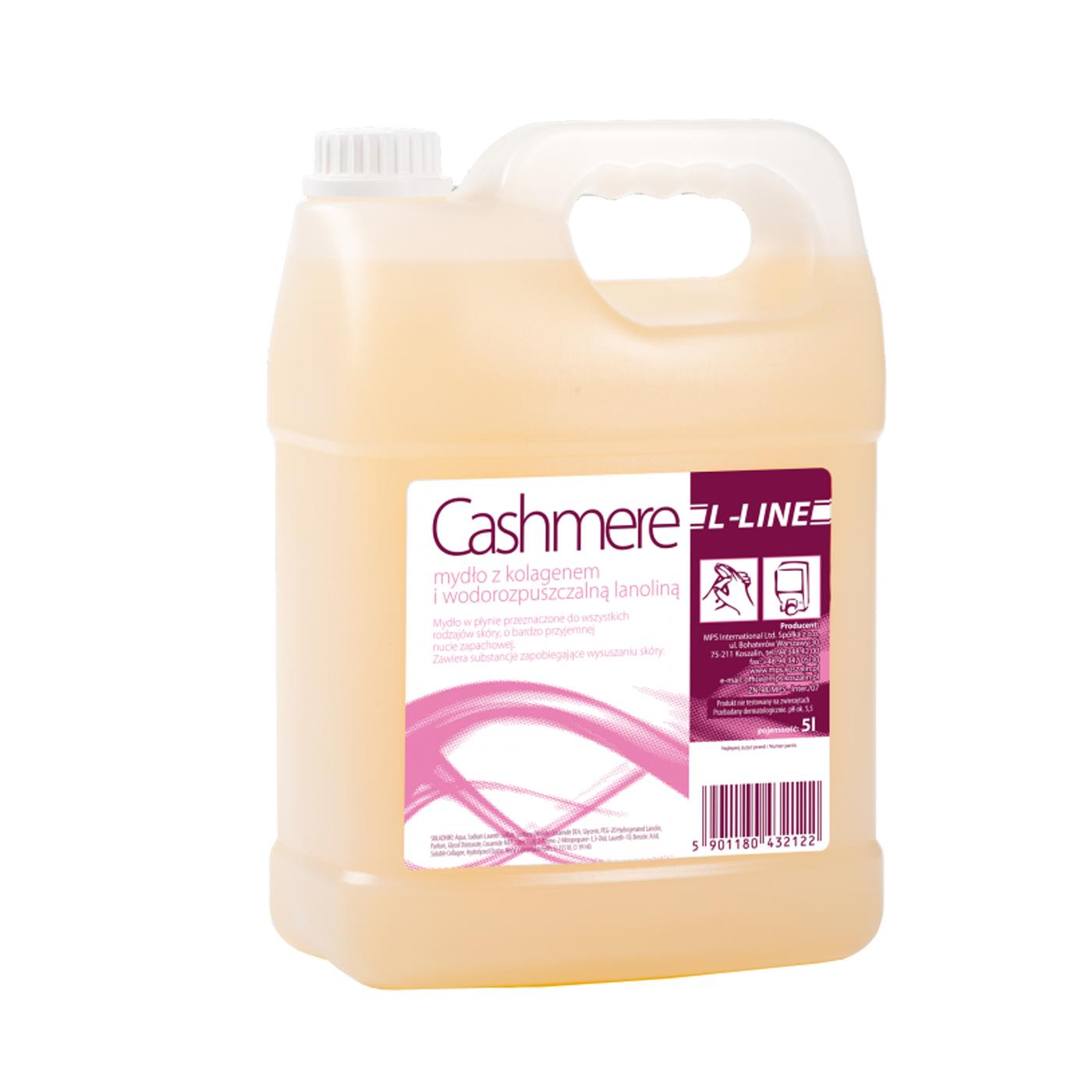 Mydło w płynie L-Line Cashmere MPS