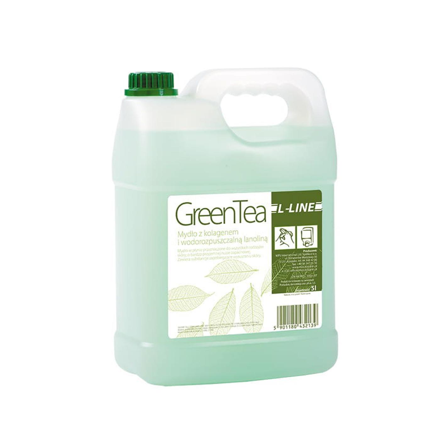 Mydło w płynie L-Line Green Tea MPS