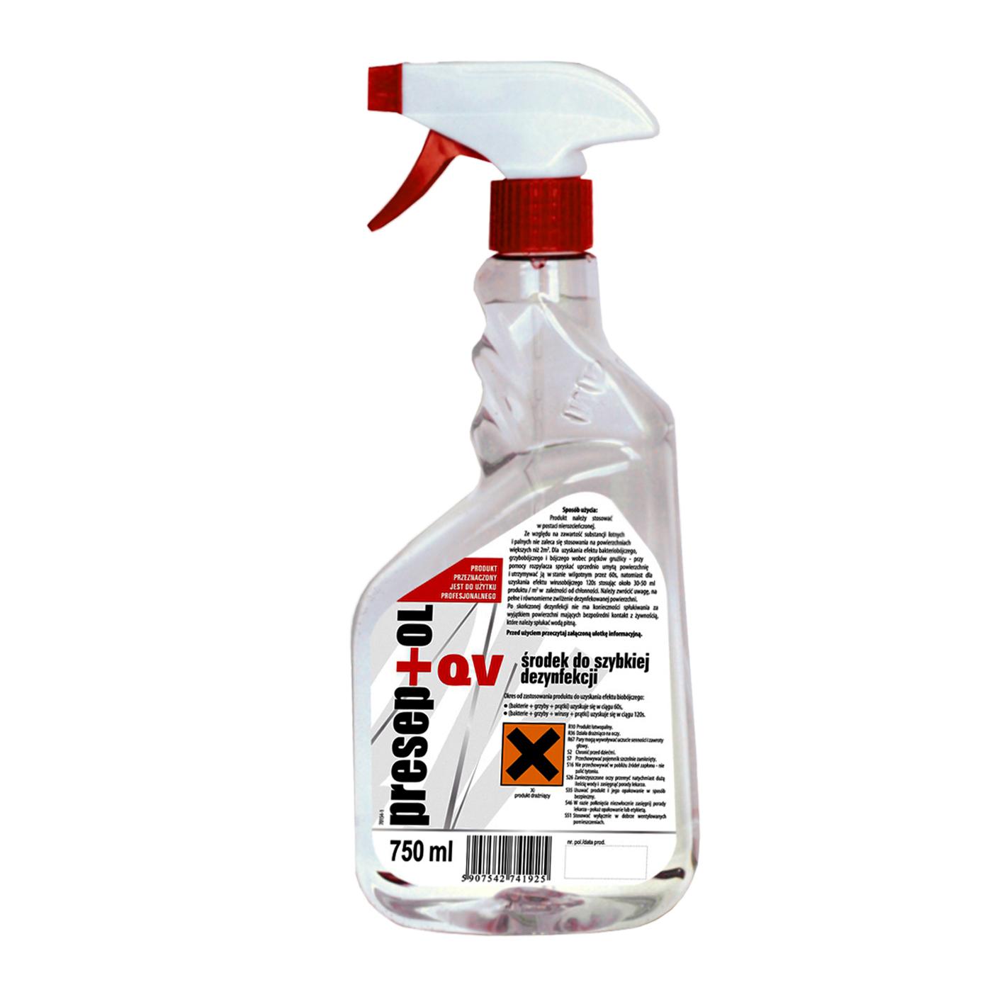 Płyn do dezynfekcji powierzchni Preseptol QV