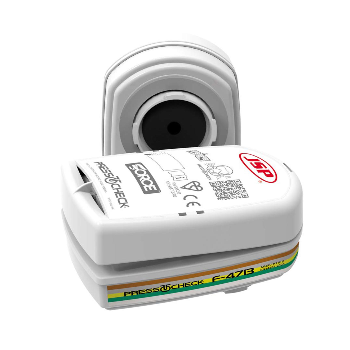 Filtropochłaniacz JSP PressToCheck Filtr – ABEK1P3 BMN750-000-600