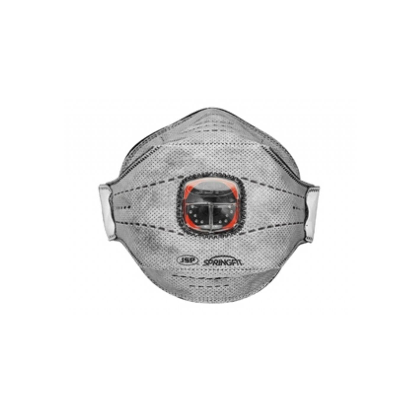 Jednorazowa półmaska przeciwpyłowa JSP z zaworkiem Typhoon Springfit  z węglem aktywnym 436ML FFP3 – rozmiar M/L BGA802-206-000