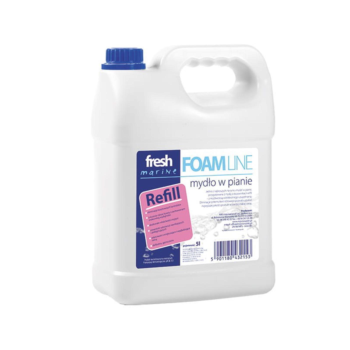 Mydło w płynie Foam Line Fresh Marine MPS