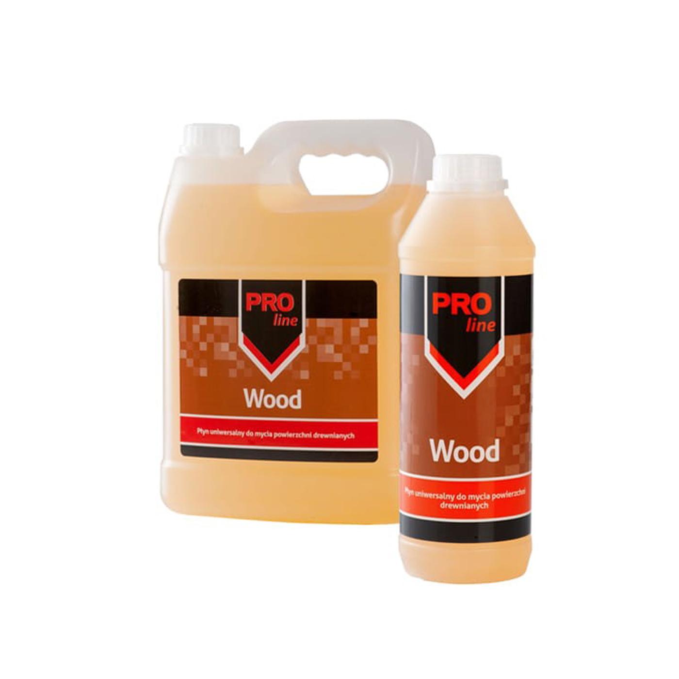 Płyn do mycia powierzchni drewnianych Pro-Line Wood MPS