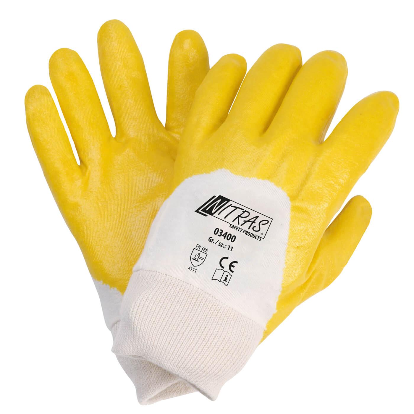 Rękawice nitrylowe Nitras 03400