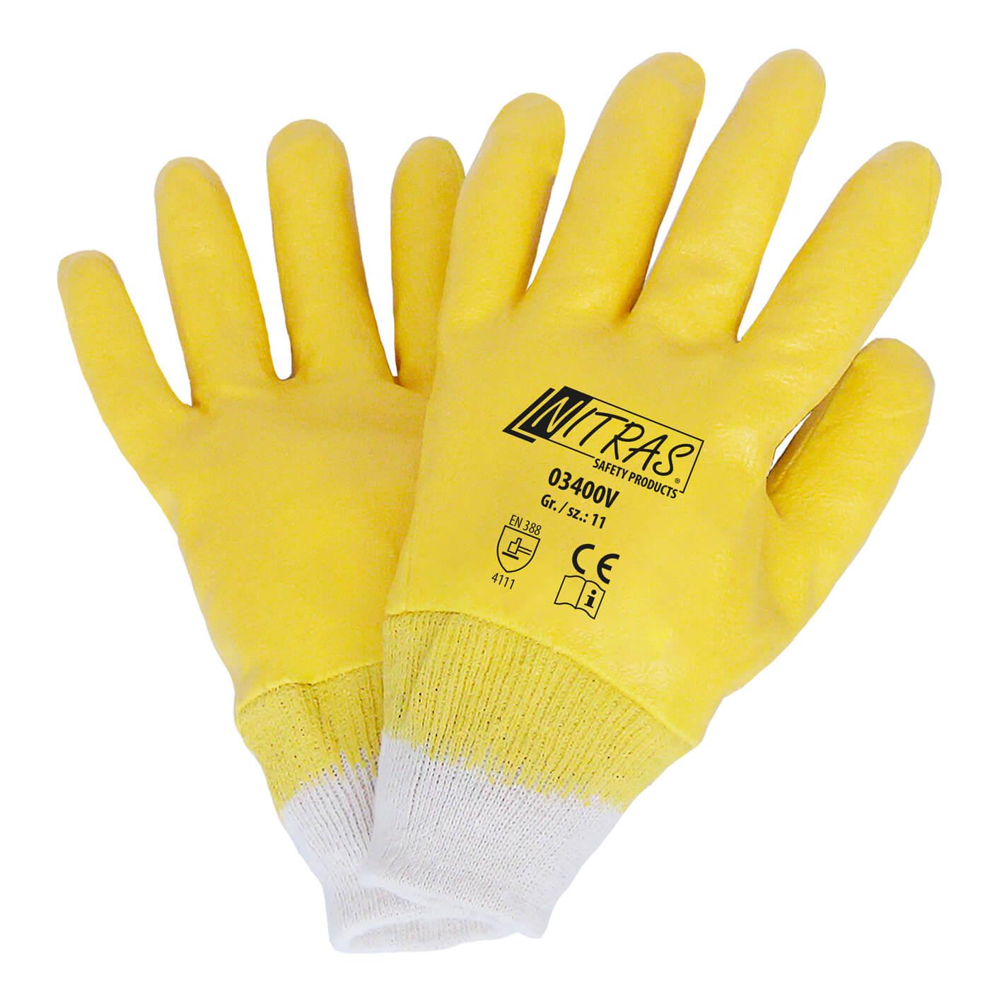 Rękawice nitrylowe Nitras 03400V