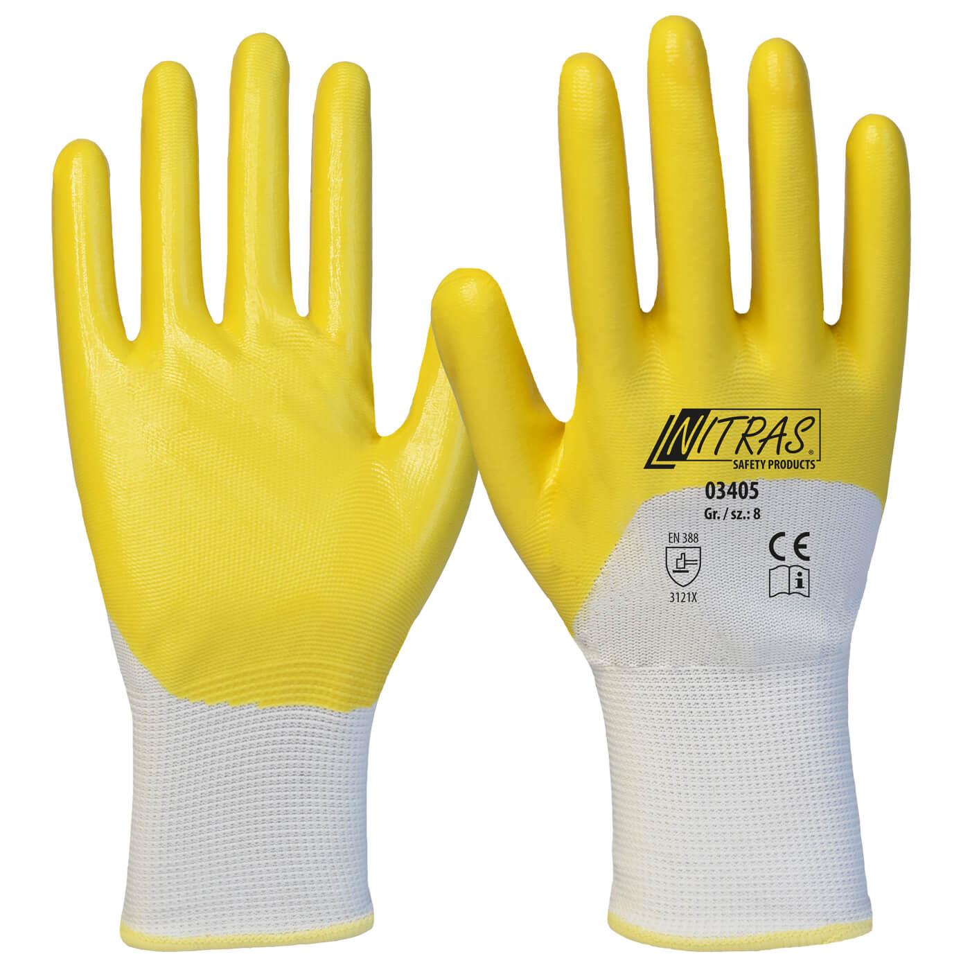 Rękawice nitrylowe Nitras 03405