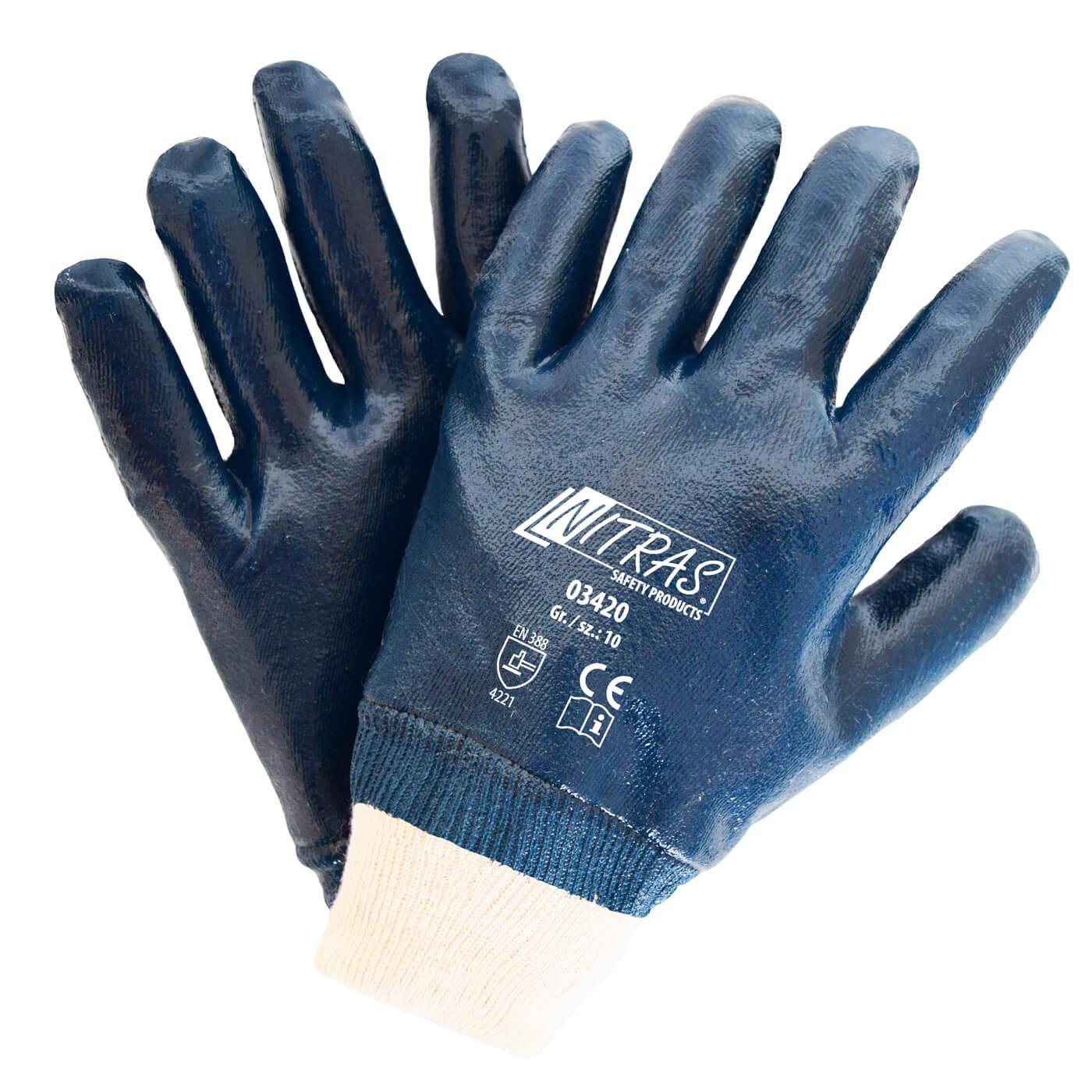 Rękawice nitrylowe Nitras 03420