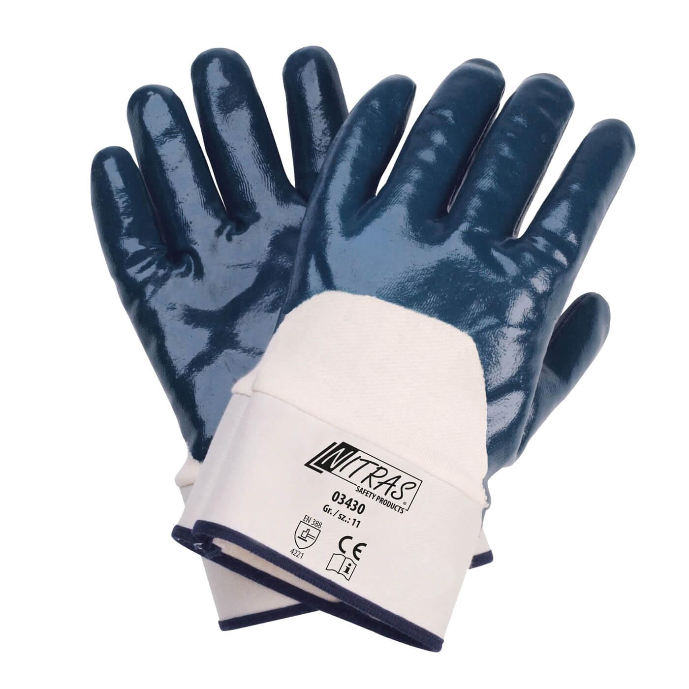 Rękawice nitrylowe Nitras 03430