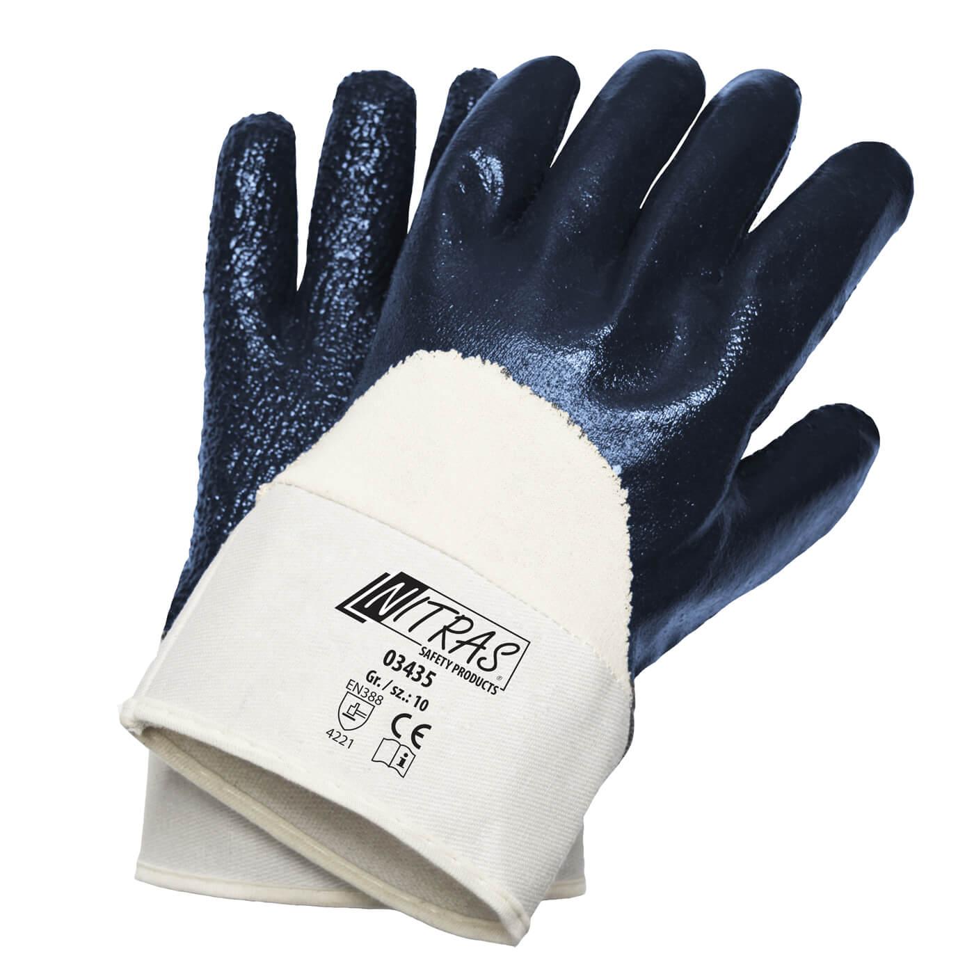 Rękawice nitrylowe Nitras 03435