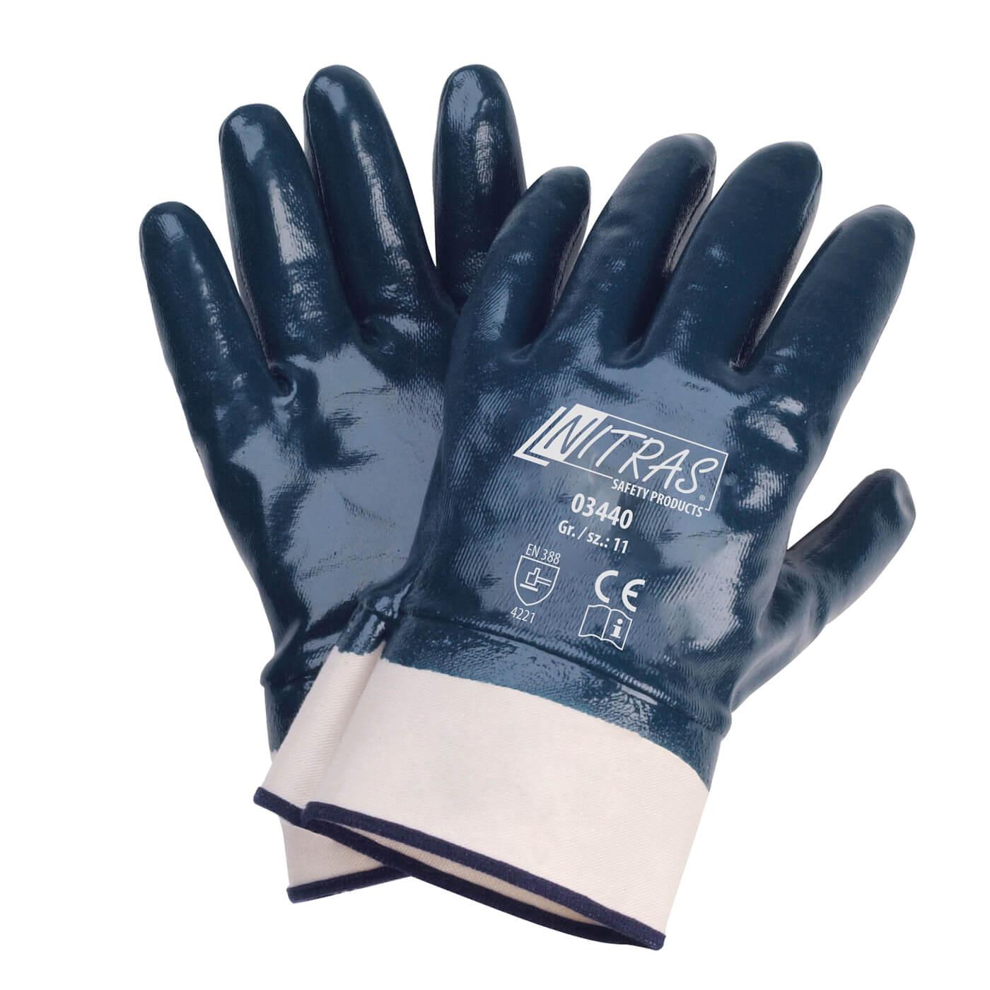 Rękawice nitrylowe Nitras 03440