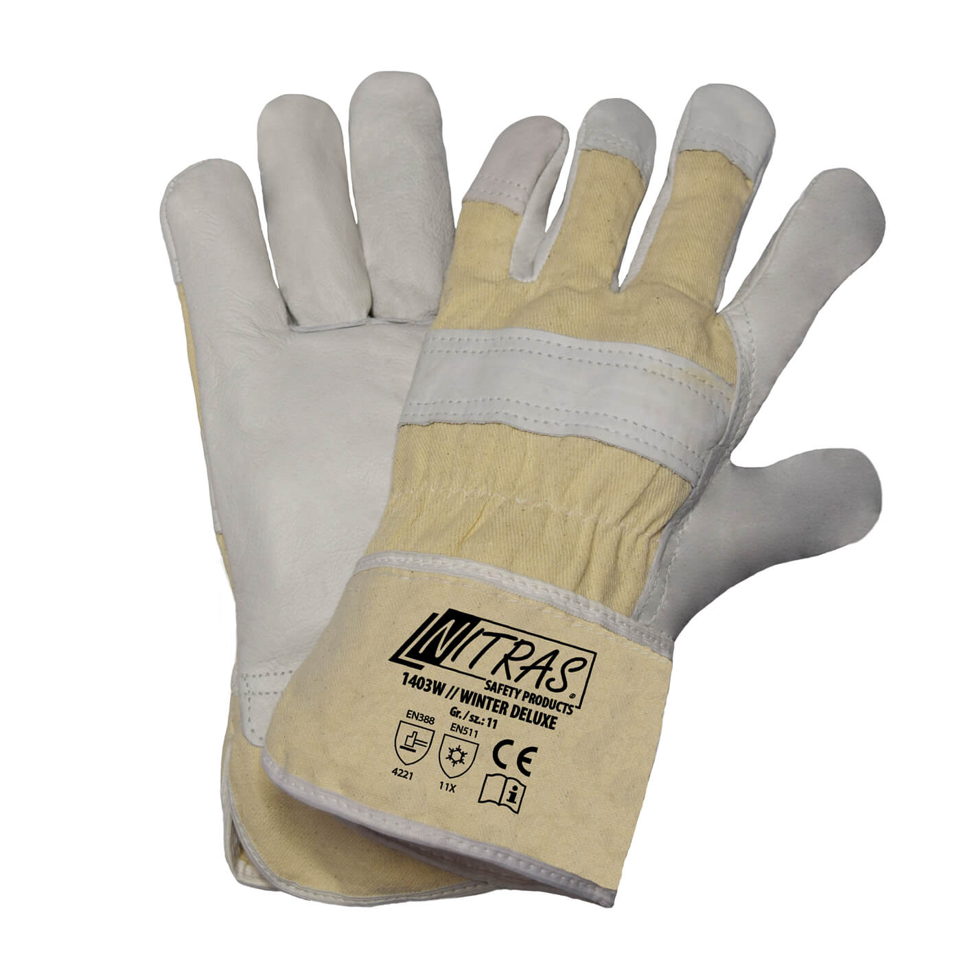 Rękawice zimowe Nitras 1403W/ WINTER WORKER