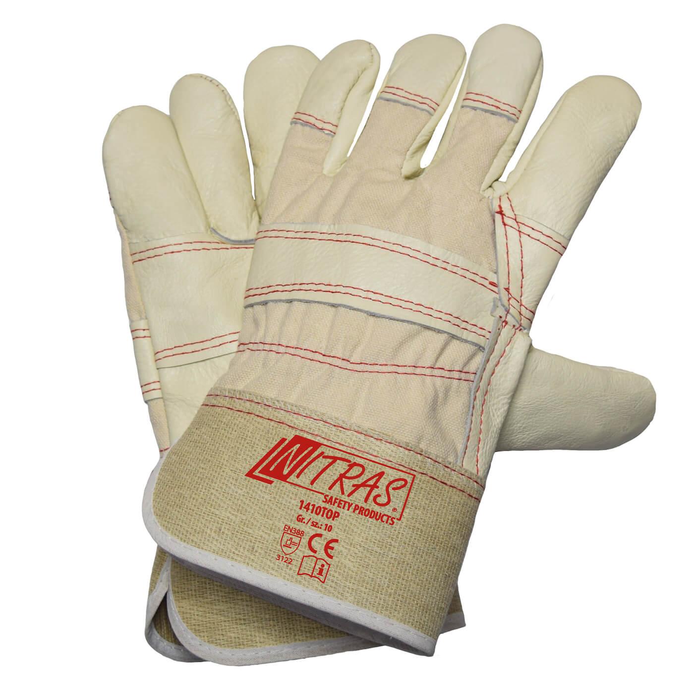 Rękawice skórzane Nitras 1410TOP