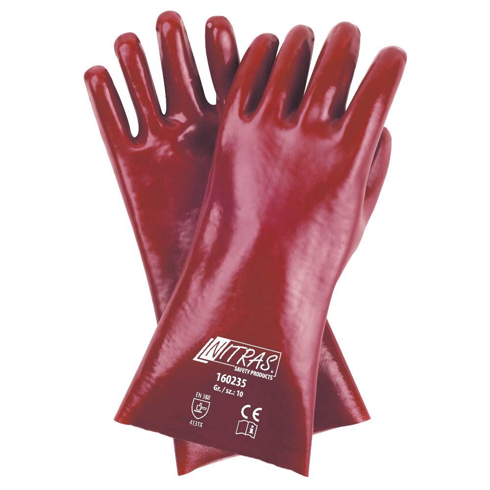 Rękawice PVC Nitras 160235 – 35 cm