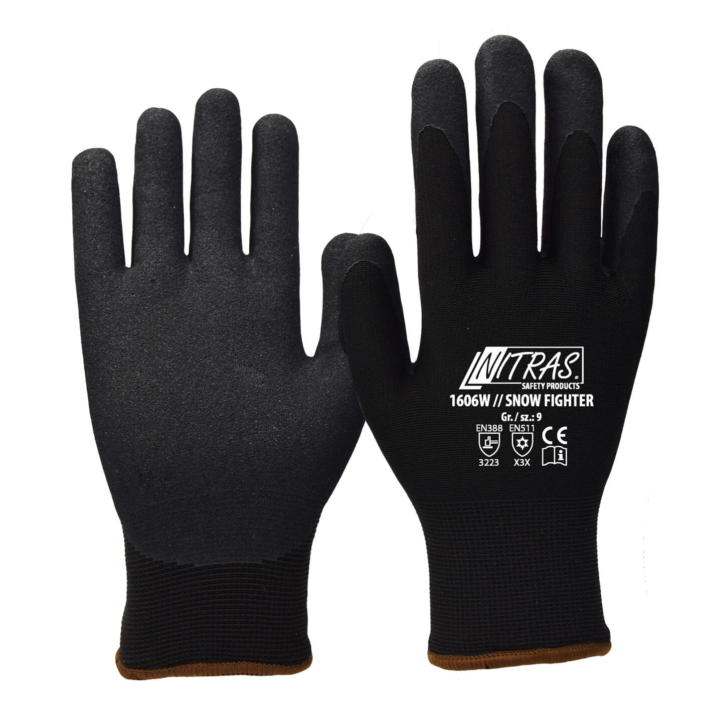 Rękawice zimowe Nitras 1606W/ SNOW FIGHTER
