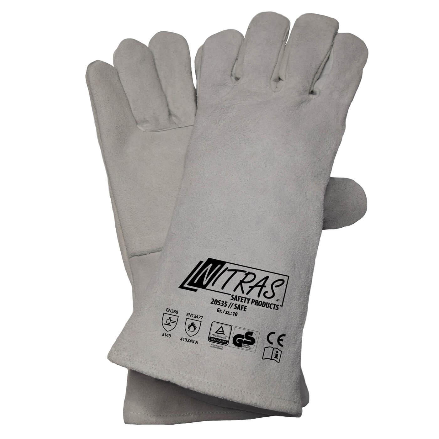 Rękawice spawalnicze Nitras 20535/ SAFE