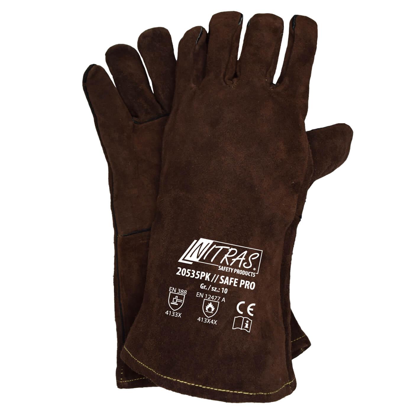 Rękawice spawalnicze Nitras 20535PK/ SAFE PRO