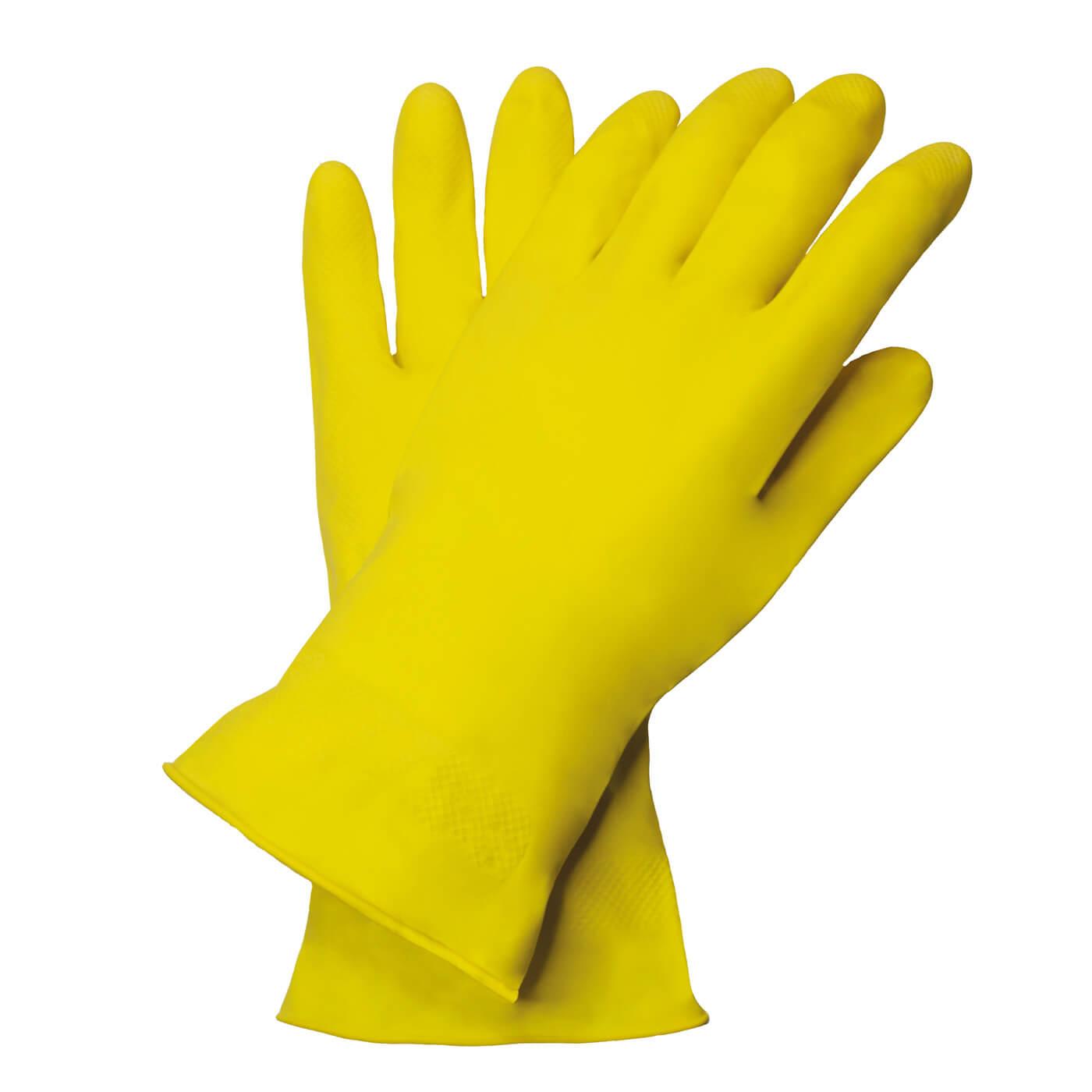 Rękawice lateksowe Nitras 3220/ YELLOW CLEANER