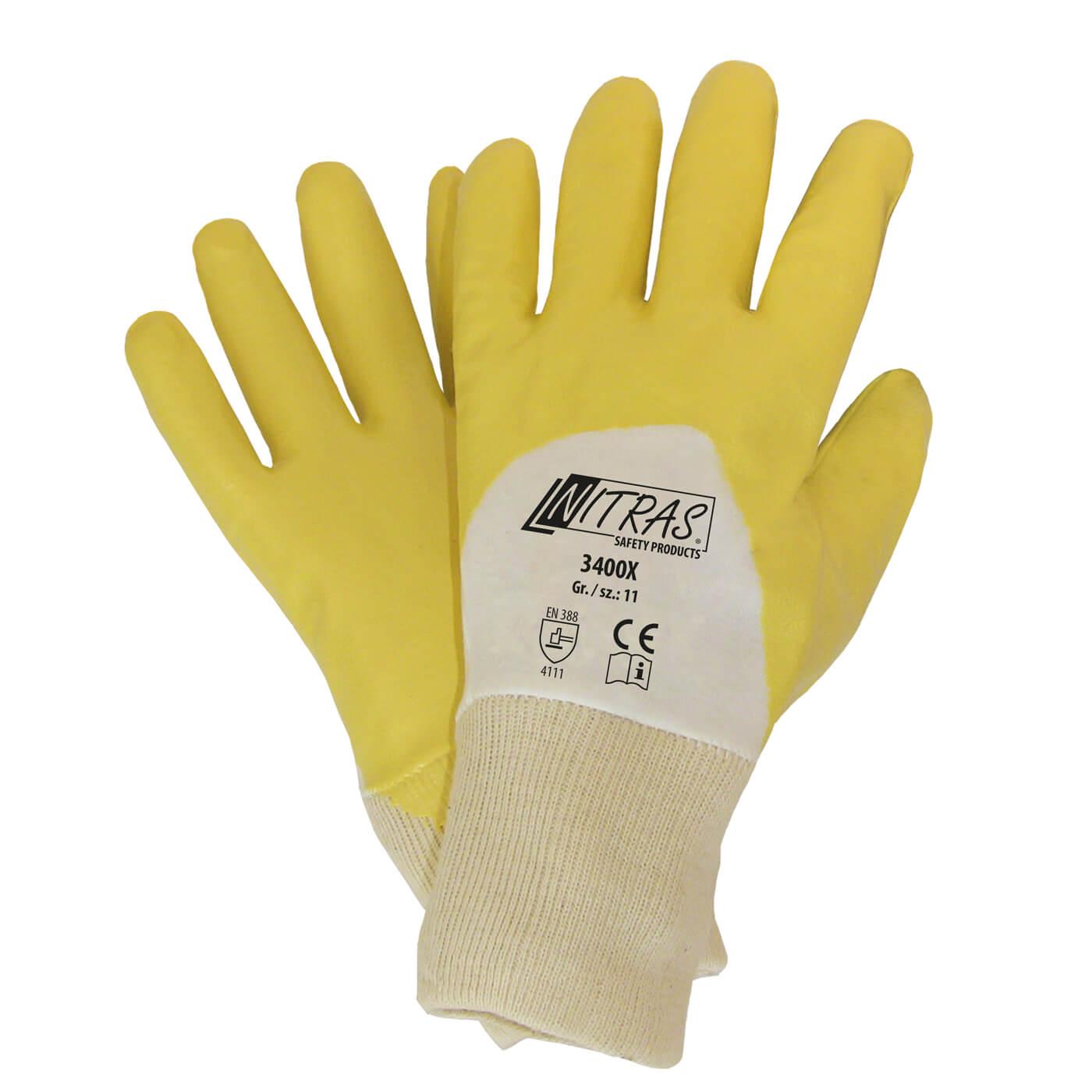 Rękawice nitrylowe Nitras 3400X