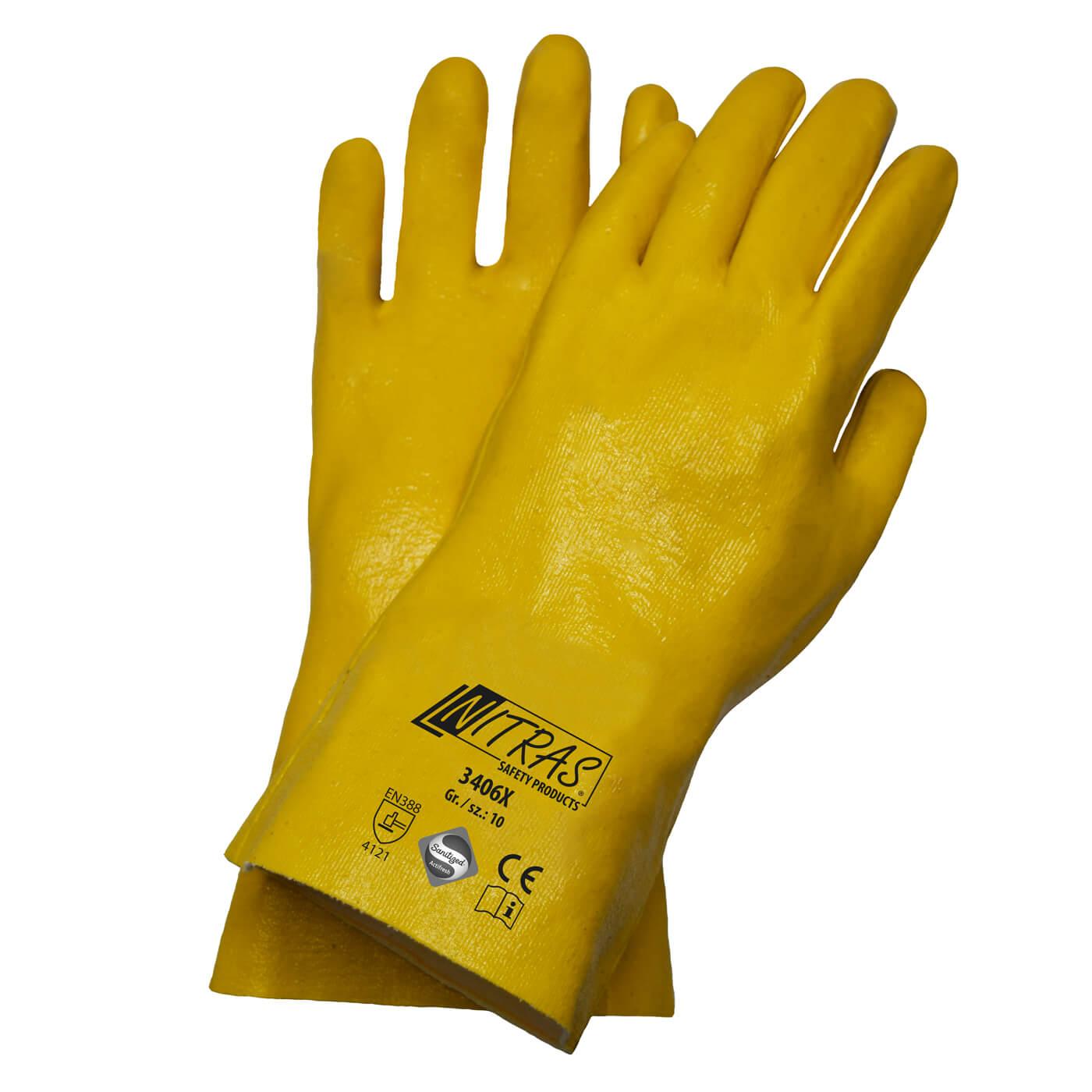Rękawice nitrylowe Nitras 3406X