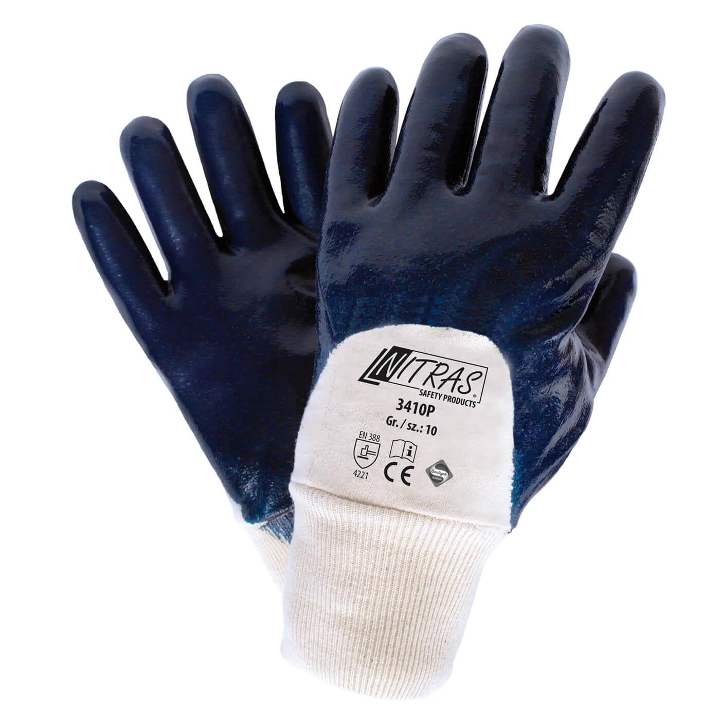 Rękawice nitrylowe Nitras 3410P