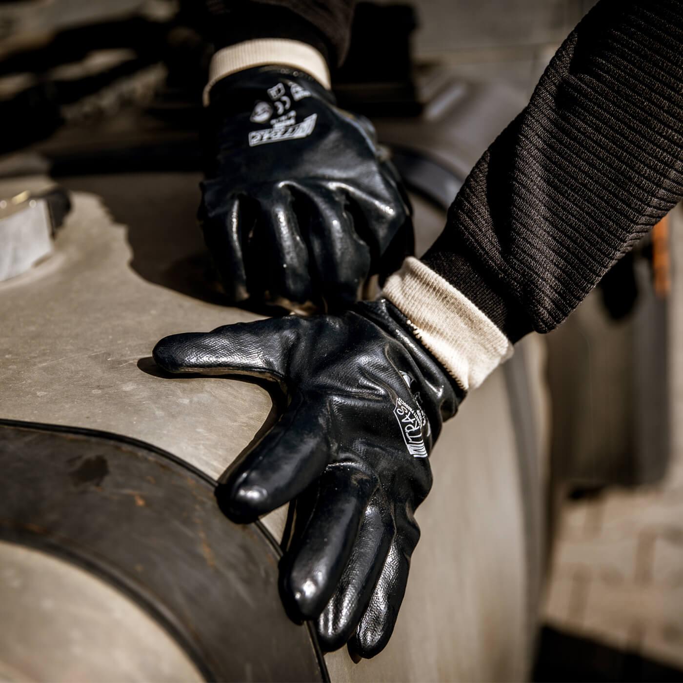 Rękawice nitrylowe Nitras 3420P