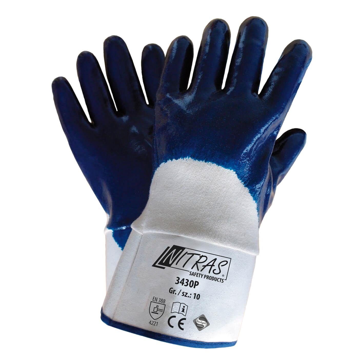 Rękawice nitrylowe Nitras 3430P