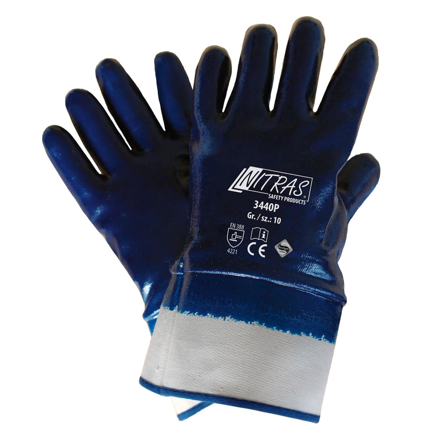 Rękawice nitrylowe Nitras 3440P