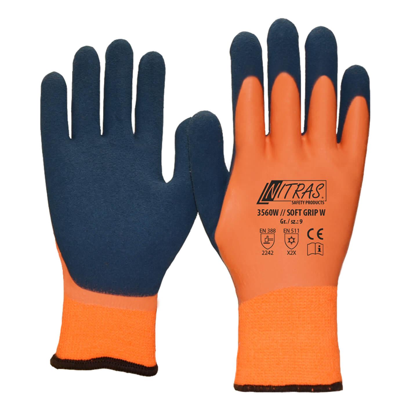 Rękawice zimowe Nitras 3560W/ SOFT GRIP W