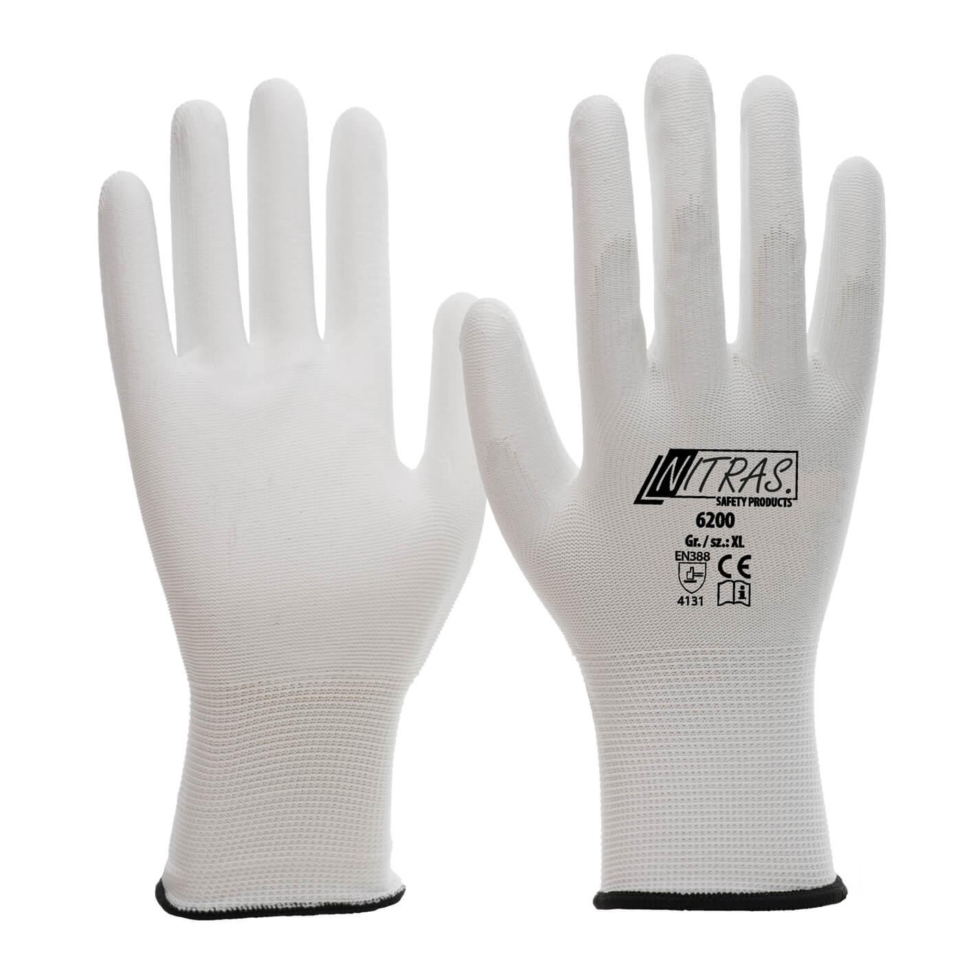Rękawice montażowe Nitras 6200