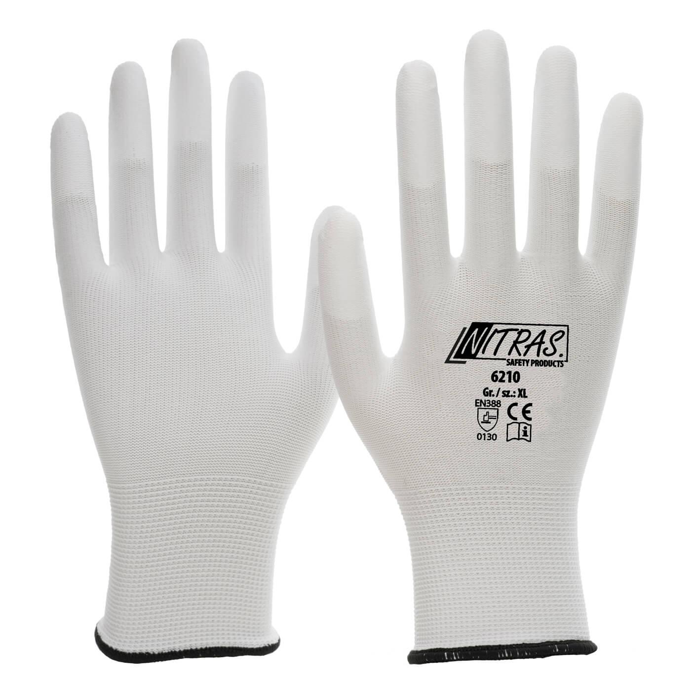 Rękawice montażowe Nitras 6210