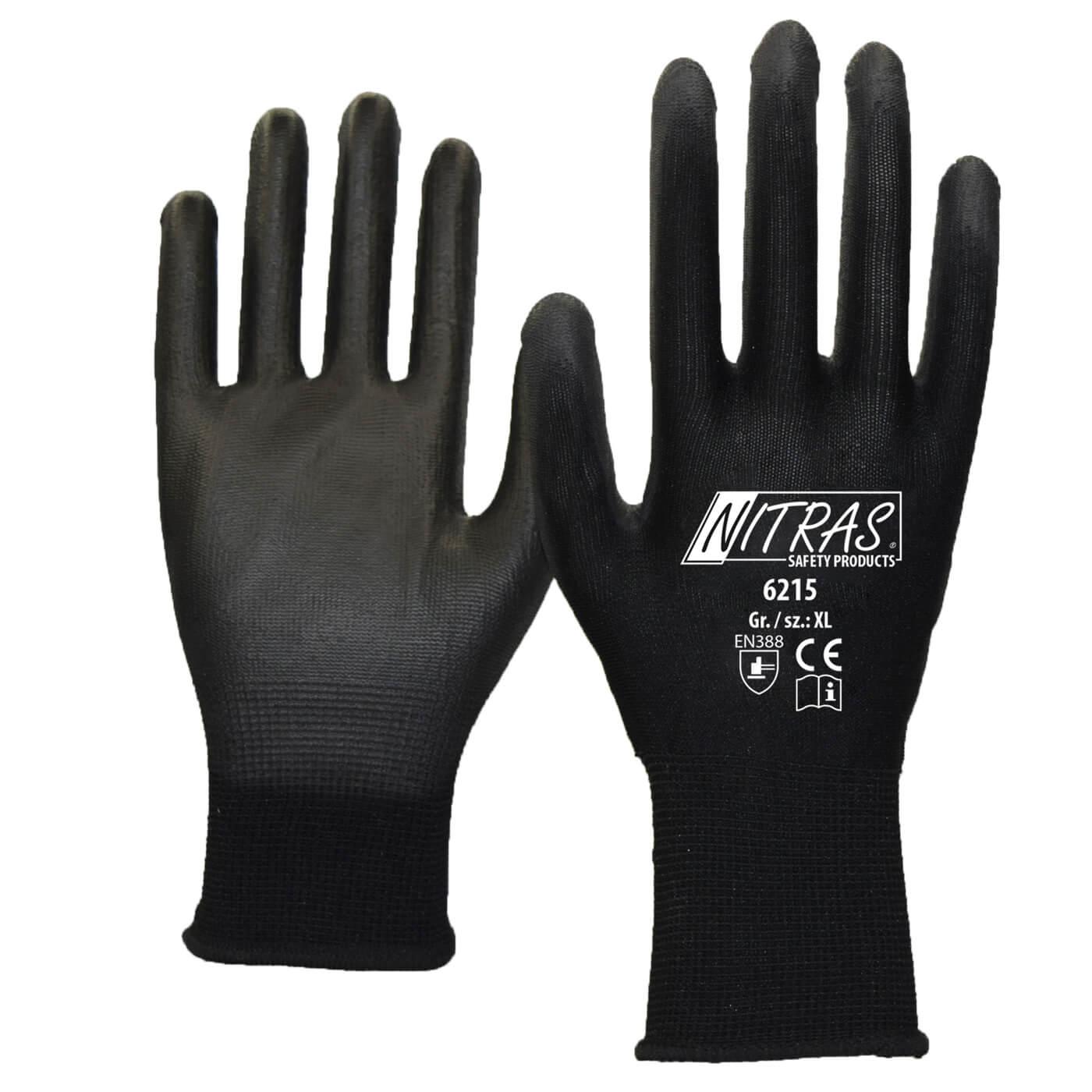 Rękawice montażowe Nitras 6215