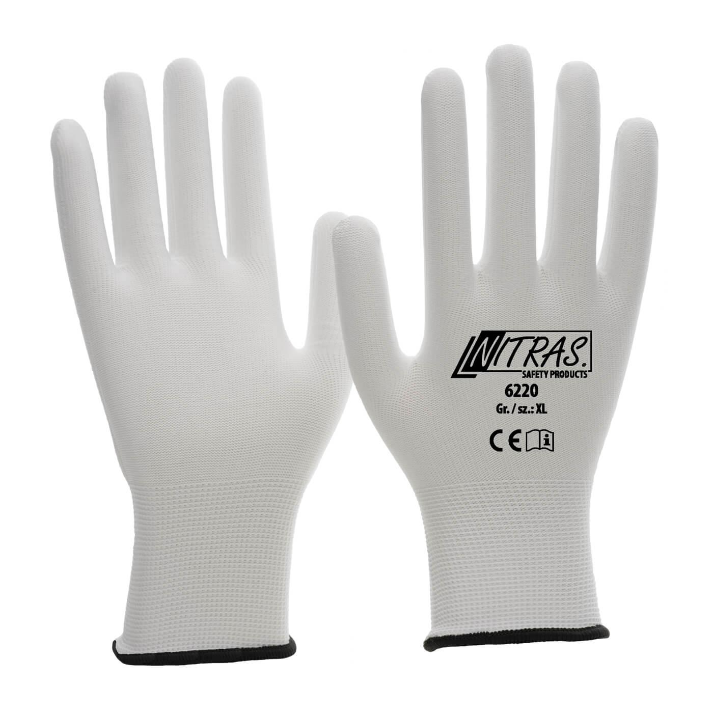 Rękawice montażowe Nitras 6220